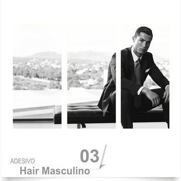 ADESIVO SALÃO BARBEARIA HAIR 03