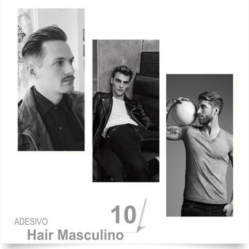 ADESIVO SALÃO BARBEARIA HAIR 10