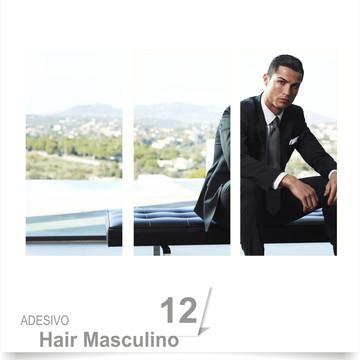 ADESIVO SALÃO BARBEARIA HAIR 12
