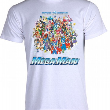 Camiseta MegaMan 06