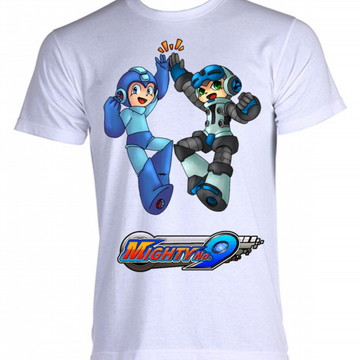 Camiseta MegaMan 12