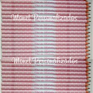 Lápis Personalizado - ROSA POA