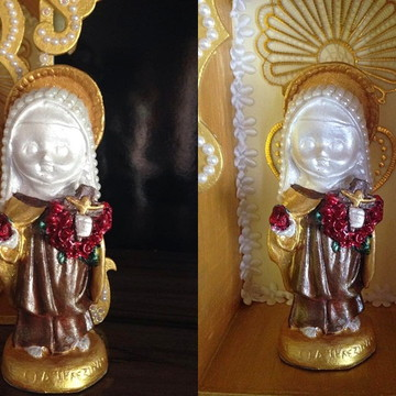 Santa Terezinha Baby (Vestimenta marrom)