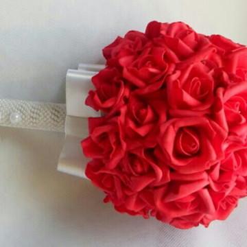 Buquê para noivas artificial com strass