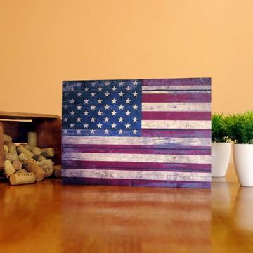 Quadro Bandeira dos Estados Unidos - 82