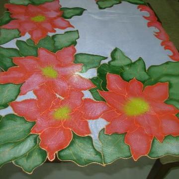 Caminho de mesa Flores de Natal