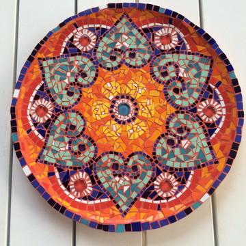 Prato em mosaico Colores Latinos