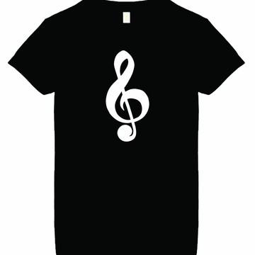 Camiseta Musica Clave de Sol