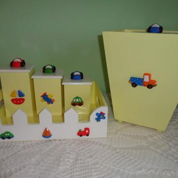 Kit Higiene Bebê - Transportes