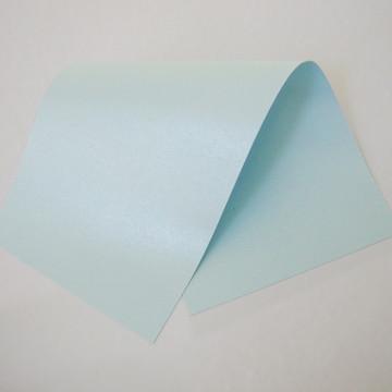Papel Perolizado Azul 180g A4 125 folhas