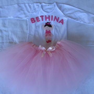 Conjunto Smash the cake Bailarina
