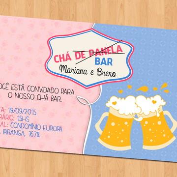 Convite - Chá (de Panela) Bar