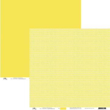 Papel Chevron - Amarelo Pastel