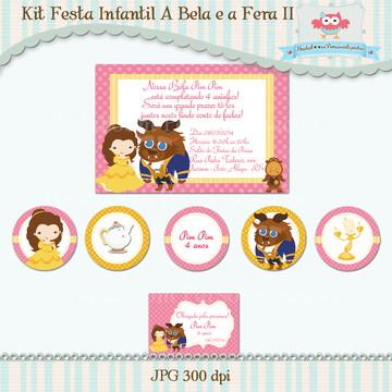 Kit Festa A Bela e a Fera II