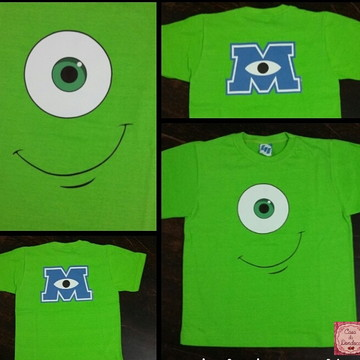 Camiseta personalizada Monstros S.A