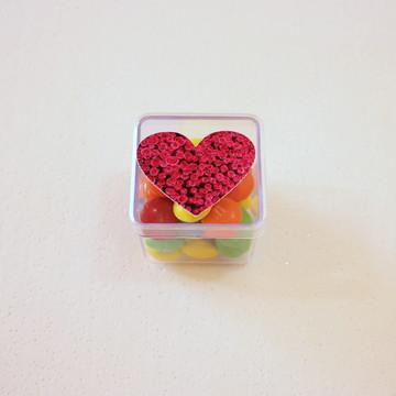 Caixinha/latinha - coração 12