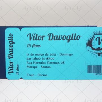 Convite Ticket