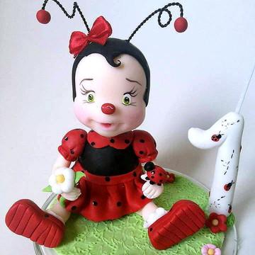 Topo menina joaninha