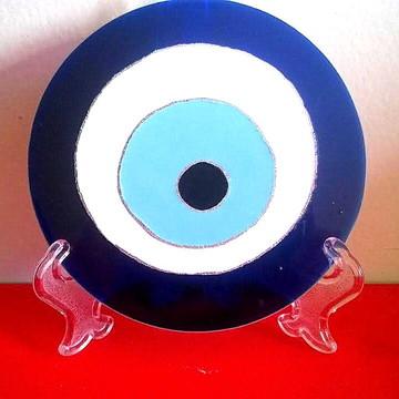 Olho grego em vidro