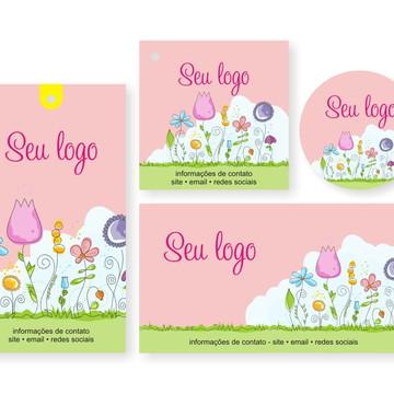 Papelaria impressa para artesanato 051