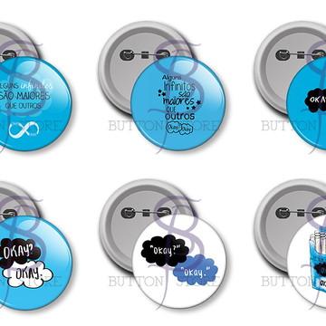 Kit 12 Buttons - A Culpa é das Estrelas