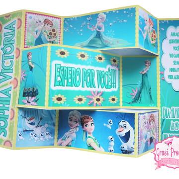 Convite personalizado Frozen Fever