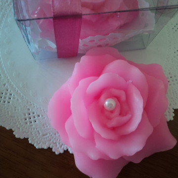 Rosa em sabonete