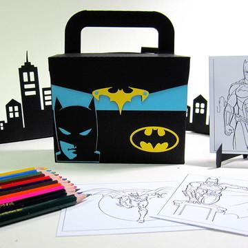 Lembrancinha Batman com Kit Pintura