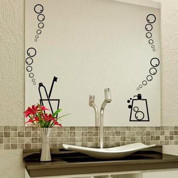 Adesivo utensílios de banheiro