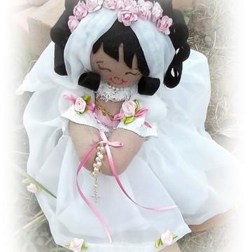 Boneca noivinha negra