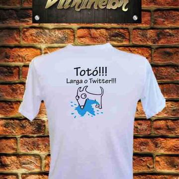 Camiseta Totó Twitter