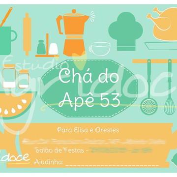 Convite Virtual Chá de Casa Nova