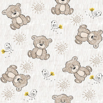 Papel de parede Urso Decor 46