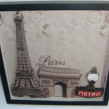 Quadro arte francesa Paris