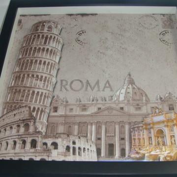 Quadro arte francesa Roma