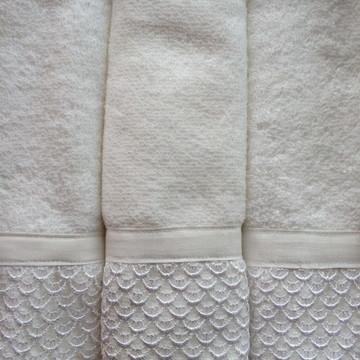 Toalha de Lavabo Branca