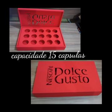 Porta cápsulas Nespresso/ Dolce Gusto