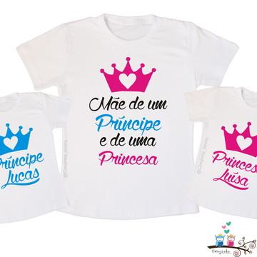 Kit Mãe de principe e princesa