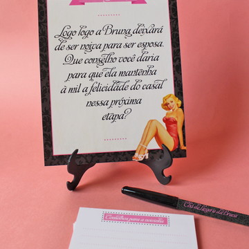 Conselho para a Noiva - Chá de Lingerie