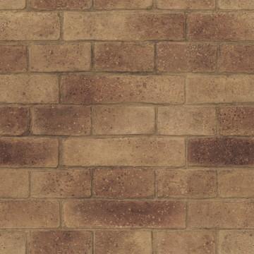 Papel de parede Tijolinho escuro 1421