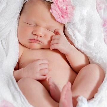 Headband Flor de Bebê 3