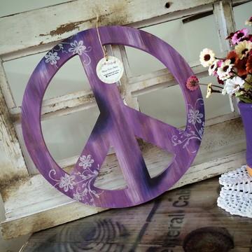 Símbolo Paz e Amor - 31cm - 9mm