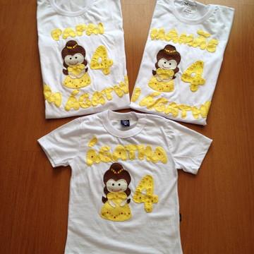 Camiseta Bela e a Fera