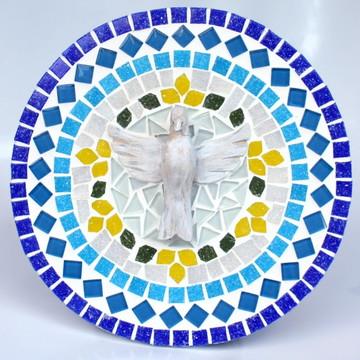 Mandala Divino Espírito Santo Azul P