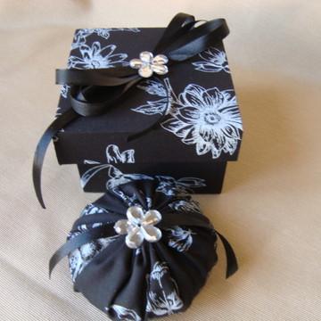 Caixa Com Sabonete Floral 12