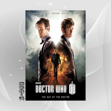 Poster 30x45cm Seriados Tv - Doctor Who