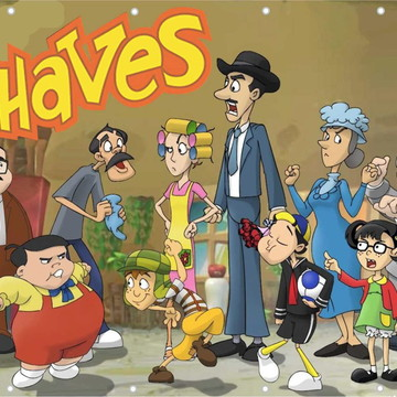 Painel Chaves Banner de festa Chaves