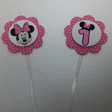 Tag / Topper Minnie Pink