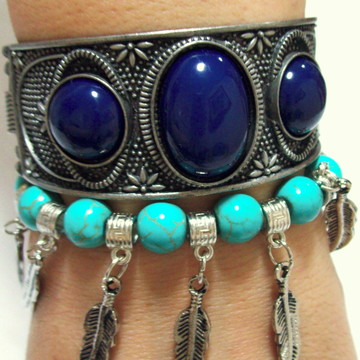 DUO BRACELETE IN BLUE