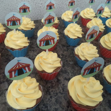 Cupcakes - Circo